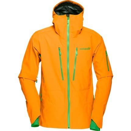 Bilde av: Oransje Norrøna Ms Lofoten Gore-Tex Pro Jacket