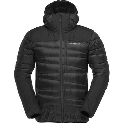Bilde av: Svart Norrøna Ms Falketind Down 750 Hood Jacket