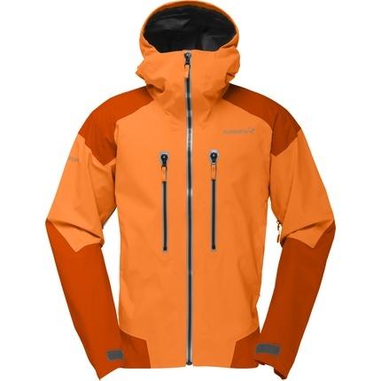 Bilde av: Oransje Norrøna Ms Trollveggen Gore-Tex Pro Jacket