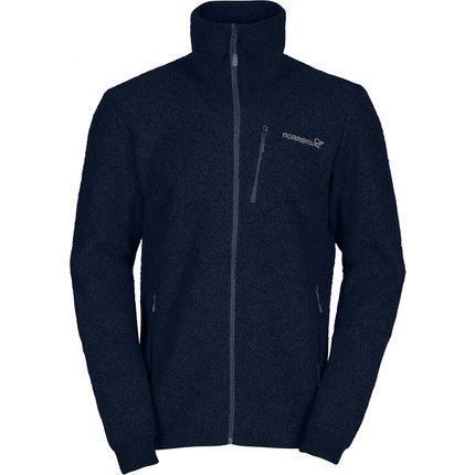 Bilde av: Blå Norrøna Ms Svalbard Wool Jacket