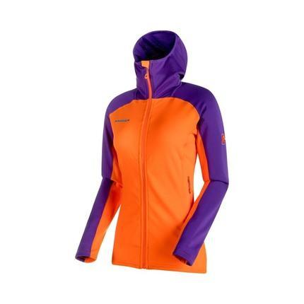 Bilde av: Oransje Mammut Ws Eiswand Advanced ML Hooded Jacket