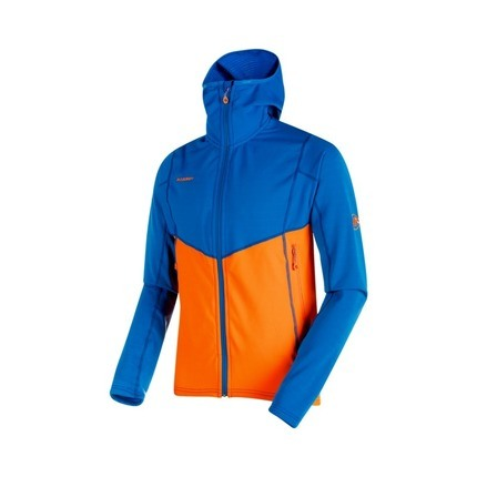 Bilde av: Oransje Mammut Ms Eiswand Advanced ML Hooded Jacket