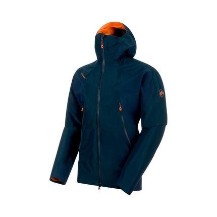 Bilde av: Blå Mammut Ms Nordwand HS Flex Hooded Jacket