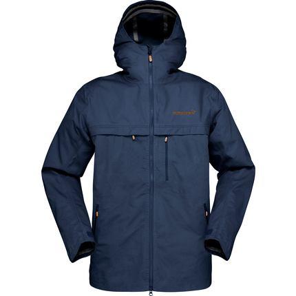 Bilde av: Blå Norrøna Ms Svalbard Cotton Jacket