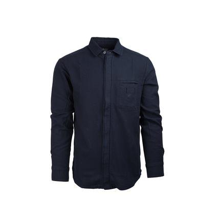 Bilde av: Blå Amundsen Ms Vagabond Shirt Garment Dyed