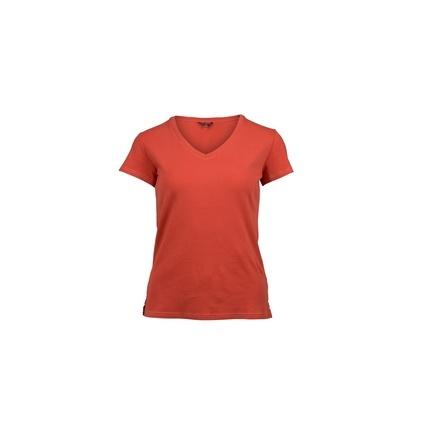 Bilde av: Rød Amundsen Ws Summer Wool Tee Garment Dyed