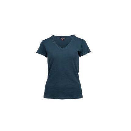 Bilde av: Blå Amundsen Ws Summer Wool Tee Garment Dyed