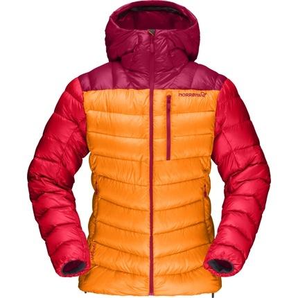 Bilde av: Oransje Norrøna Ws Lyngen Down 850 Hood Jacket