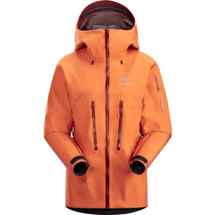 Bilde av: Oransje Arcteryx Ws Alpha SV Jacket