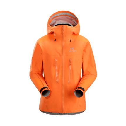 Bilde av: Oransje Arcteryx Ws Alpha AR Jacket