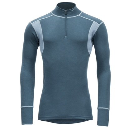 Bilde av: Blå Devold Ms Hiking Half Zip Neck