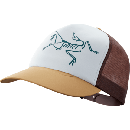 Bilde av: Brun Arcteryx Bird Trucker Hat