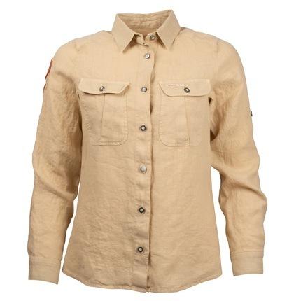 Bilde av: Brun Amundsen Ws Safari Linen Shirt