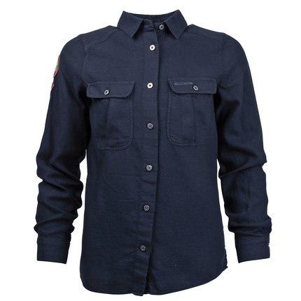 Bilde av: Blå Amundsen Ws Safari Flanel Shirt