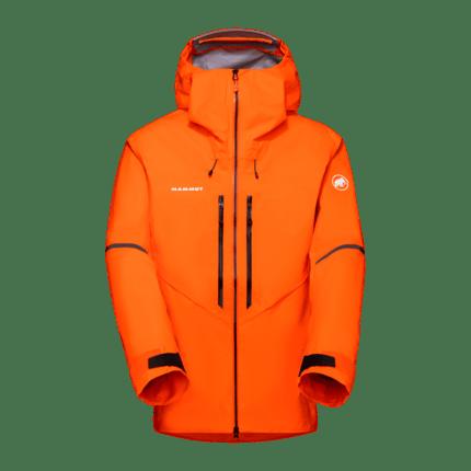 Bilde av: Oransje Mammut Ms Nordwand Advanced HS Hooded Jacket