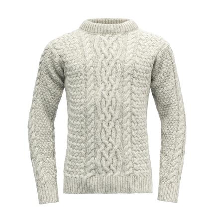 Bilde av: Grå Devold Sandøy Crew Neck Sweater