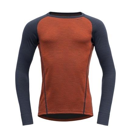Bilde av: Oransje Devold Ms Duo Active Shirt
